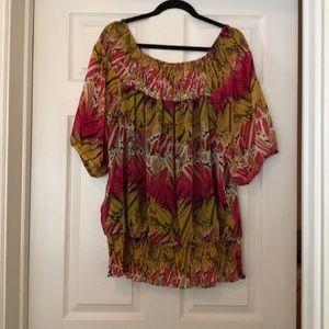 Alfani size 20 100% polyester shirt
